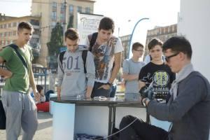 Live Bending Show la Gara din Cluj-Napoca, proiect sustinut de BCR pentru Scena Urbana