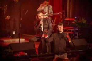 Live Bending Show pentru 1000 de spectatori la concertul That's Amore sustinut de David & Six Martini