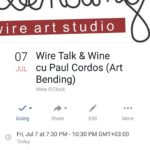Wire talk @ Wine O'Clock, Cluj-Napoca
