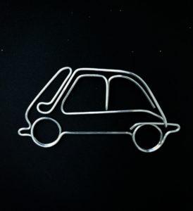 BMW Isetta | 24 X 18 cm | pret: 70 lei