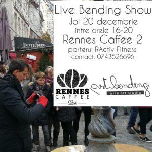 Live Bending Show @ Rennes Caffee, Sibiu