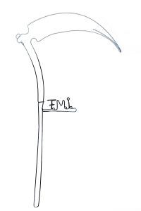 F.M.I - 65 X 30 cm | © Paula Gecan