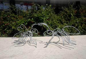 furnica & bondar 3D | 30 X 10 cm | o singura linie