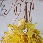Cuplu, cake topper, inaltime 20 cm