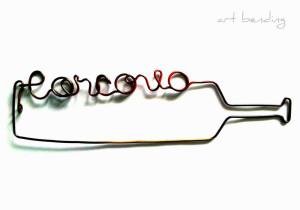 Corcova | sârmă & acrilic | 35 X 15 cm