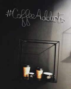 #CoffeeAddicts, lungime 75 cm