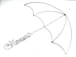 umbrela | 50 X 50 cm