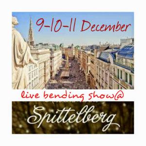 Live Bending Show @ Spittelberg, Viena 2017