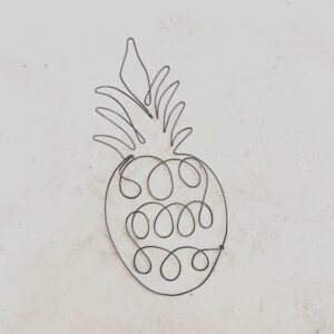 Ananas, inaltime 37 cm