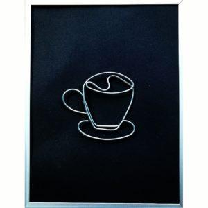 Cappuccino 28 X 24 cm