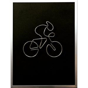 Biciclist, 30 X 40 cm