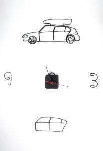 Ceas BMW, 50 X 50 cm